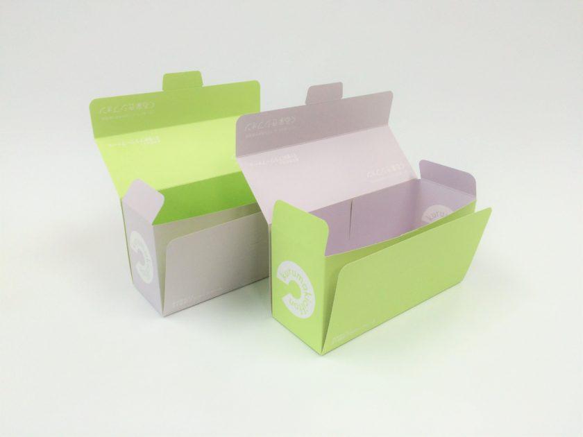 21世紀フラワーファーム ブルーベリーとアスパラシのフォンケーキ・リバーシブルボックス